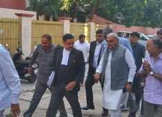 AJL land allotment case: Bhupinder Hooda arrives at CBI Special Court in Panchkula