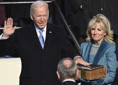 Joe Biden takes oath as 46th US President, pleads for unity in inaugural address