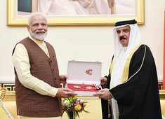 Bahrain: PM Narendra Modi conferred 'The King Hamad Order of Renaissance'