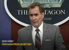 Strikes in Syria make clear US will act: John Kirby, Pentagon spokesman