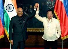 India, Philippines sign four agreements during President Kovind's visit to Manila