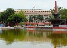 Rajya Sabha's Covid guidelines: Six feet distance, no hard copies