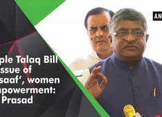 Triple Talaq Bill is issue of 'insaaf', women empowerment: RS Prasad