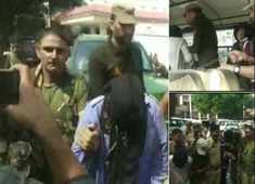 J&K Security forces have arrested 3 Hizbul terrorists