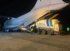 IAF transports oxygen cylinders, essential medicines amid deadly COVID wave
