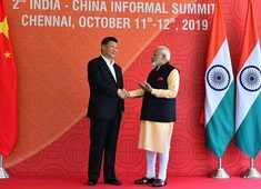 India-China Informal Summit: Modi, Xi hold one-on-one talks for second day