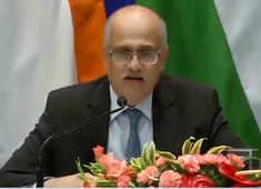 Foreign Secretary Vijay Gokhale briefs media on Day One of Modi-Xi meet