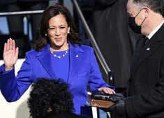 Joe Biden Inauguration: Kamala Harris sworn in as first woman Vice President of United States