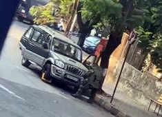 Mumbai: Abandoned SUV near Mukesh Ambani's house Antilia triggers bomb scare, gelatin sticks recovered