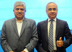 Infosys has had a dramatic reinvention led by Salil Parekh in last 3 years: Nandan Nilekani
