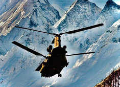 Chinook helicopters operationalised in high-altitude locations including Siachen glacier