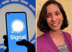 Signal will never track your data, share it with third parties: Aruna Harder, Signal COO