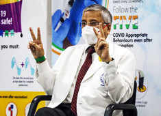 AIIMS Director Dr Randeep Guleria receives 2nd dose of COVID vaccine