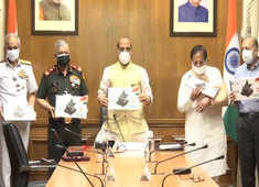 Watch: Rajnath Singh releases E-book titled '20 Reforms in 2020'