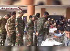 Watch: 644 cadres of 8 militant groups surrender in Assam's Guwahati