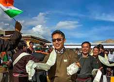 Ladakh one of India's precious gems, how to handle it is our internal matter: Tsering Namgyal