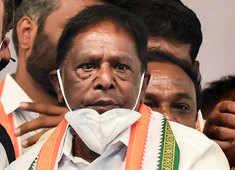 Puducherry: 5th Congress MLA resigns ahead of floor test; govt's strength drops to 13