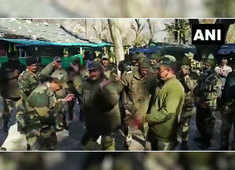 Watch: BSF personnel celebrate New Year in Poonch