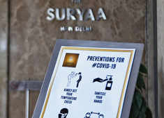 Delhi: Hotels and ashrams repurposed for Covid-19 surge