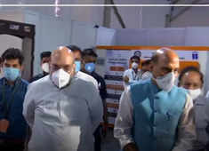 DRDO-built COVID temporary hospital of 1000 beds in just 12 days: Rajnath Singh