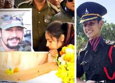 Inspiring! Pulwama martyr Major Vibhuti Shankar Dhoundiyal's wife Nikita Kaul joins Indian Army
