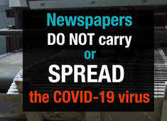 Busting Myths: Newspapers do not spread Covid-19, they are safe