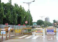 Deserted scenes as Karnataka imposes total lockdown on Sundays