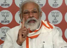 Danger of COVID-19 remains and festival season is set to begin; be aware and spread awareness: PM Modi to BJP workers
