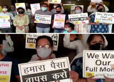 Mumbai: PMC account holders stage protest in Bhandup