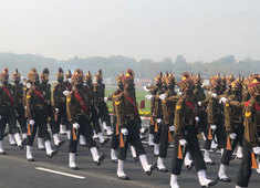 Watch: ITBP contingent practices ahead of Republic Day parade