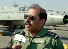Balakot airstrike anniversary: Air Chief Marshal Bhadauria lands in Srinagar after flying MiG-21