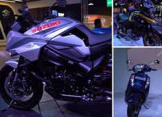 Autocar show: Suzuki pavilion at Auto Expo 2020