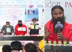 Baba Ramdev launches Patanjali's 'evidence-based' medicine for Covid-19