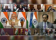 PM Modi interacts with diplomatic missions via video-conferencing