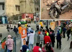 West Bengal: Stones pelted at BJP workers during rally attended by Union Minister Debasree Chaudhuri, other leaders
