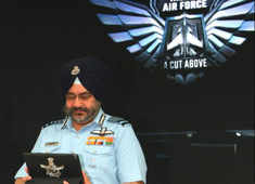 Air Chief Marshal BS Dhanoa launches combat-based mobile game