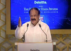 At ET Awards 2018, VP Naidu calls for global response against economic offences