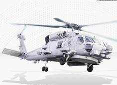 """Indian Navy to get at least three MH-60 """"Romeo"""" multi-mission heavy-duty helicopters soon"""