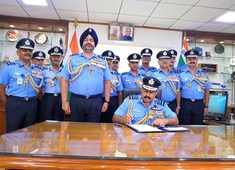 Air Marshal RKS Bhadauria takes charge as Chief of Air Staff after BS Dhanoa demits office