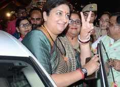 Amethi election results: Smriti Irani leading over Rahul Gandhi