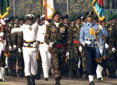 Watch: Special contingent from Bangladesh in Republic Day parade to mark 50 years of their liberation