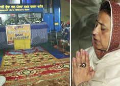 Watch: Farmers offer prayers on Parkash Purab at temporary Gurdwara at Singhu Border