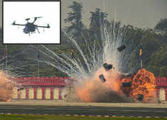 Army Day: India demonstrates combat swarm drone system