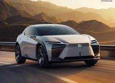 Lexus debuts its conceptual BEV, LF-Z Electrified, with four-wheel driving force control