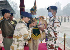 Watch: Naming ceremony of ITBP canines held in Haryana's Panchkula