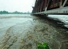 Delhi: Yamuna River continues to be above danger mark post water release from Hathni Kund