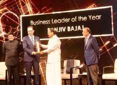 ET Awards 2018: Sanjiv Bajaj lifts 'Business Leader of the Year' award