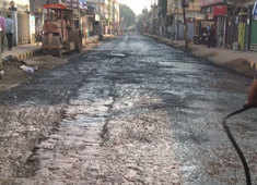 Agartala: Tripura gets its first road constructed with plastic waste, CM Biplab Deb inaugurates