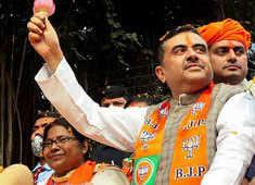 Take up Mamata's challenge, lotus will defeat her by half lakh votes: Suvendu Adhikari