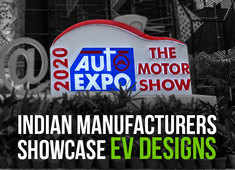 Auto Expo 2020: Indian manufacturers showcase EV designs
